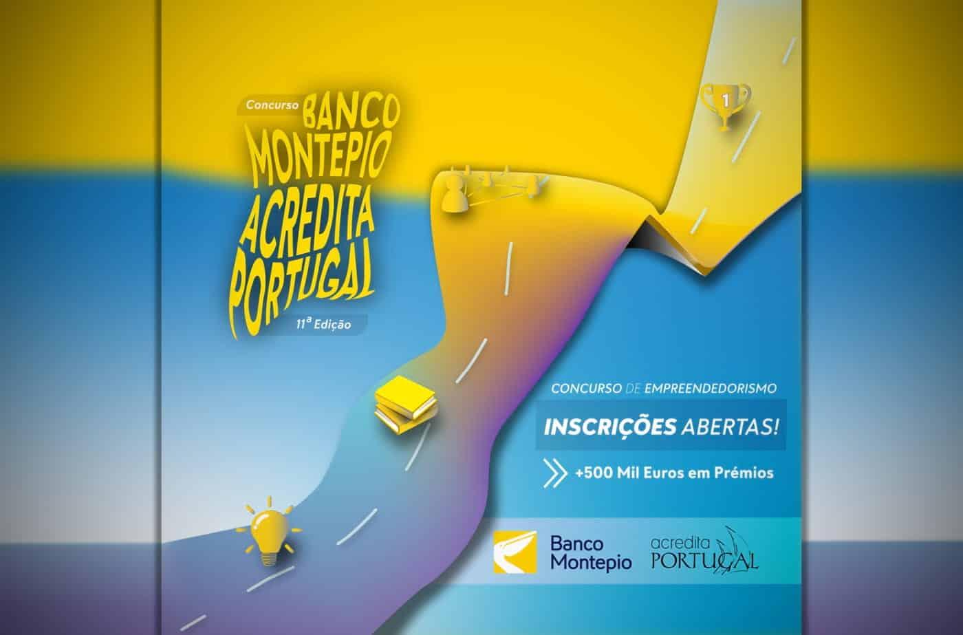 Concurso de Empreendedorismo Banco Montepio Acredita Portugal