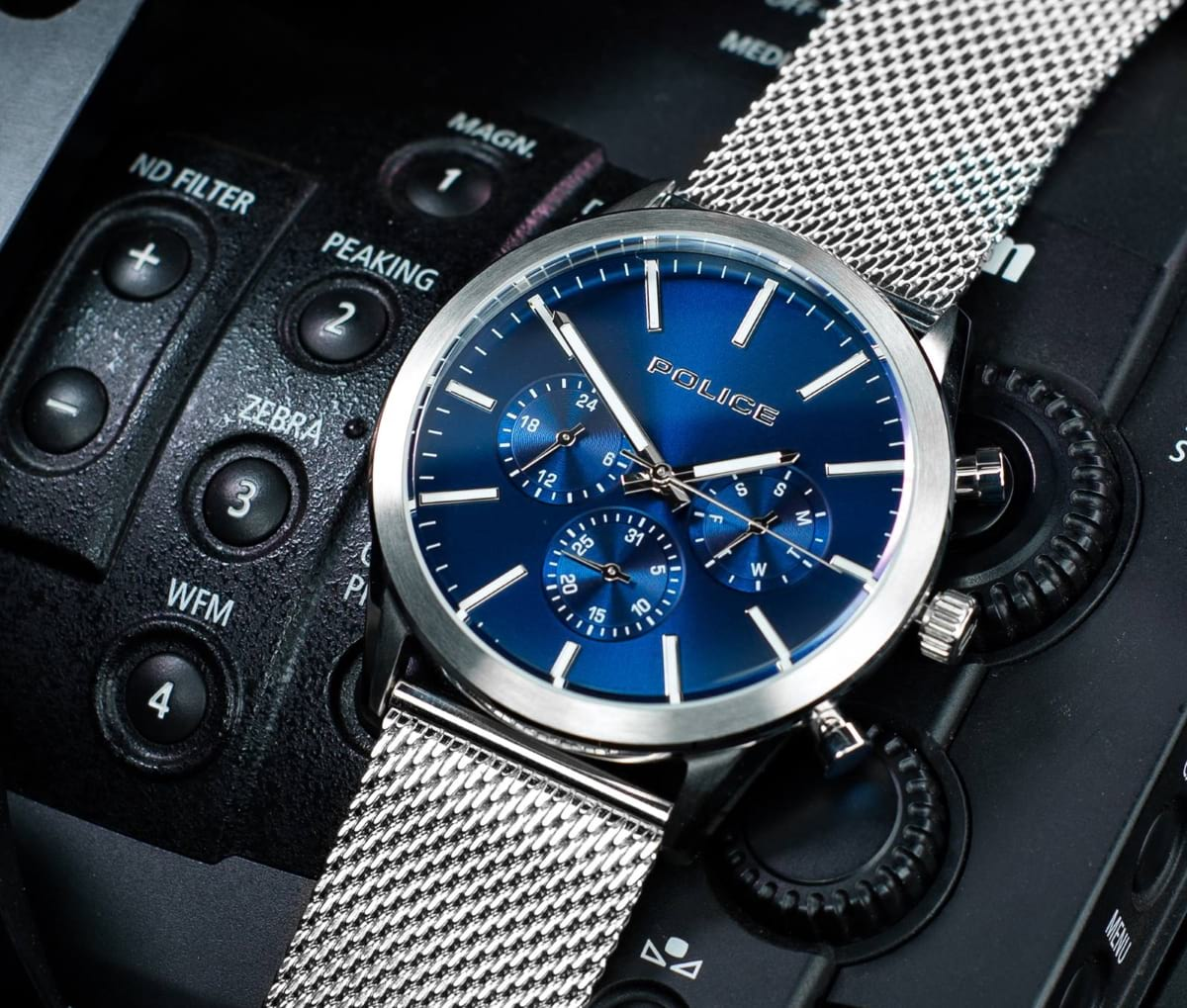 Relógio Patriot da Police