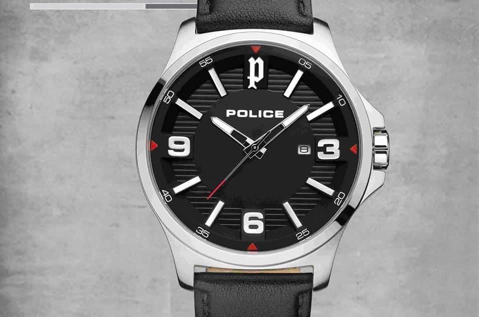 Relógio Police Clan
