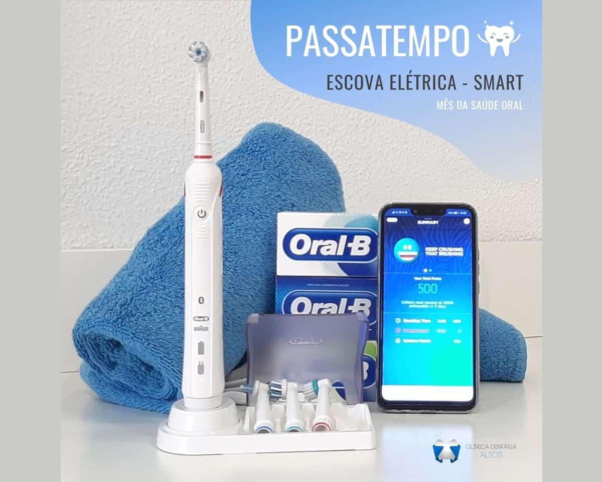 Escova Elétrica - Smart da Oral B