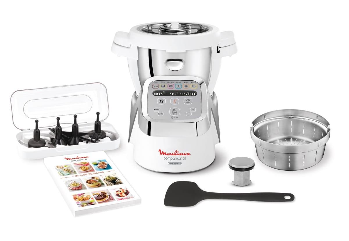 Robot de cozinha Companion XL da Moulinex