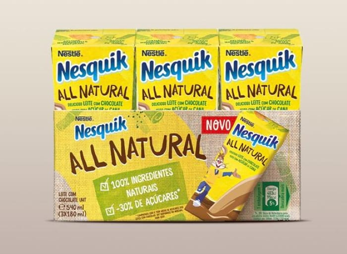 Leite Achocolatado NESQUIK ALL NATURAL