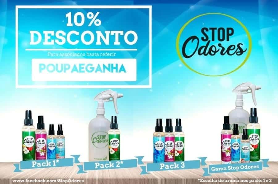 Desconto - Stop Odores - Poupa e Ganha