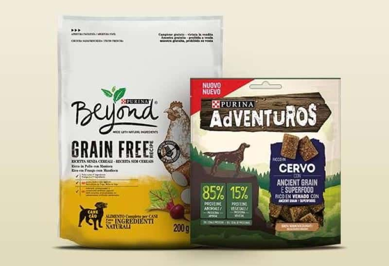 BEYOND® GRAIN FREE e PURINA ADVENTUROS
