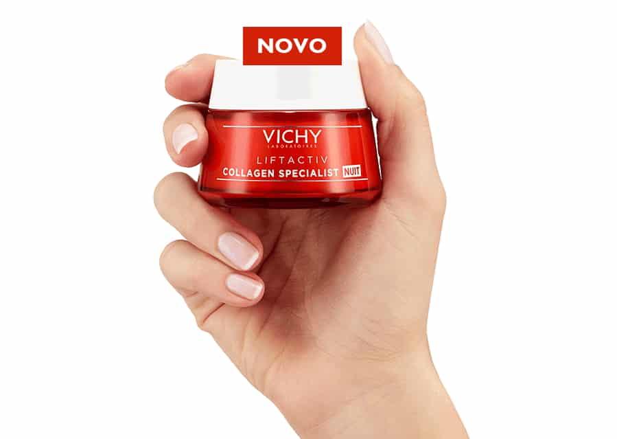 Creme Liftactiv Collagen Specialist Noite da Vichy