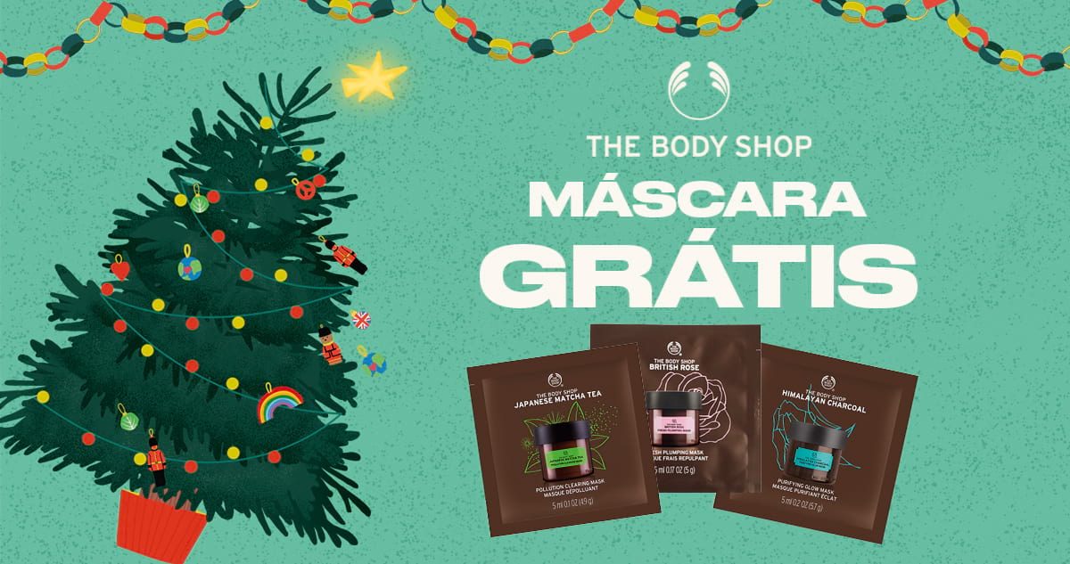 Máscaras The Body Shop