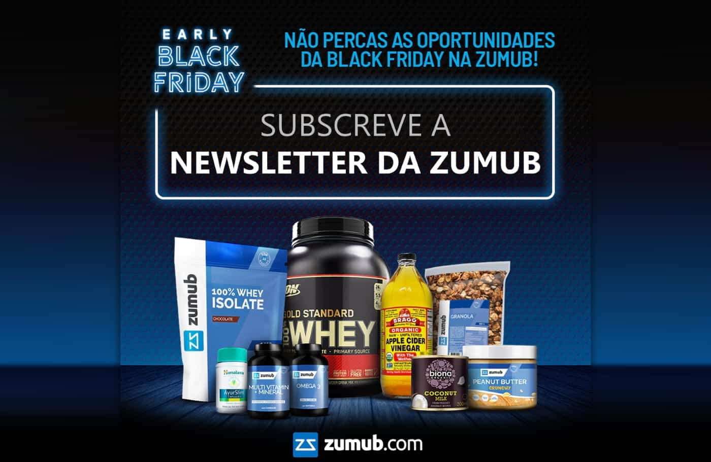 Zumub - Newsletter de Black Friday