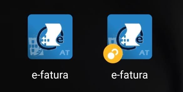 App e-fatura clonada