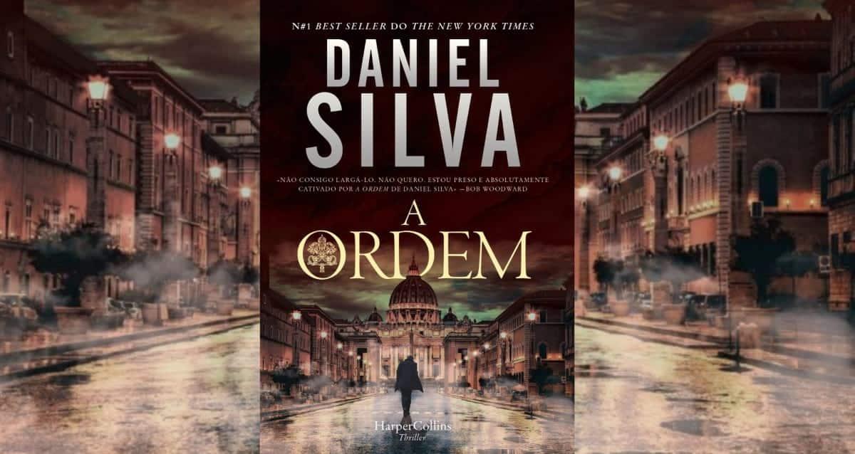 """Livro """"A ordem"""" De Daniel Silva"""