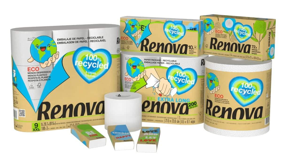 Pack Renova 100% Recycled