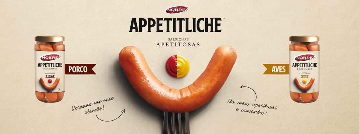 Salsichas Nobre Appetitliche