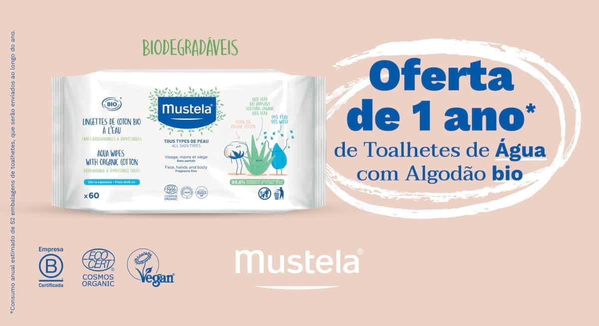 Toalhetes Mustela