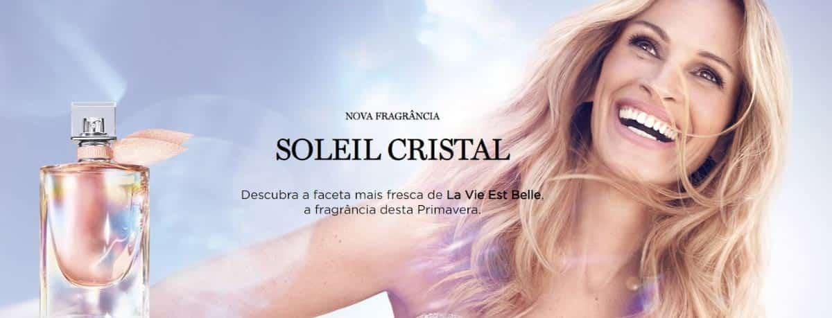 Lancôme My Rewards: fragrância La Vie Est Belle Soleil Cristal