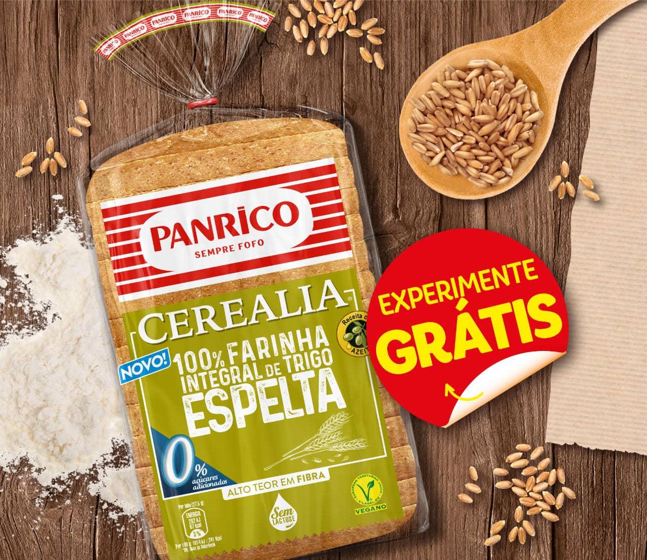 Panrico Cerealia 100% Farinha Espelta