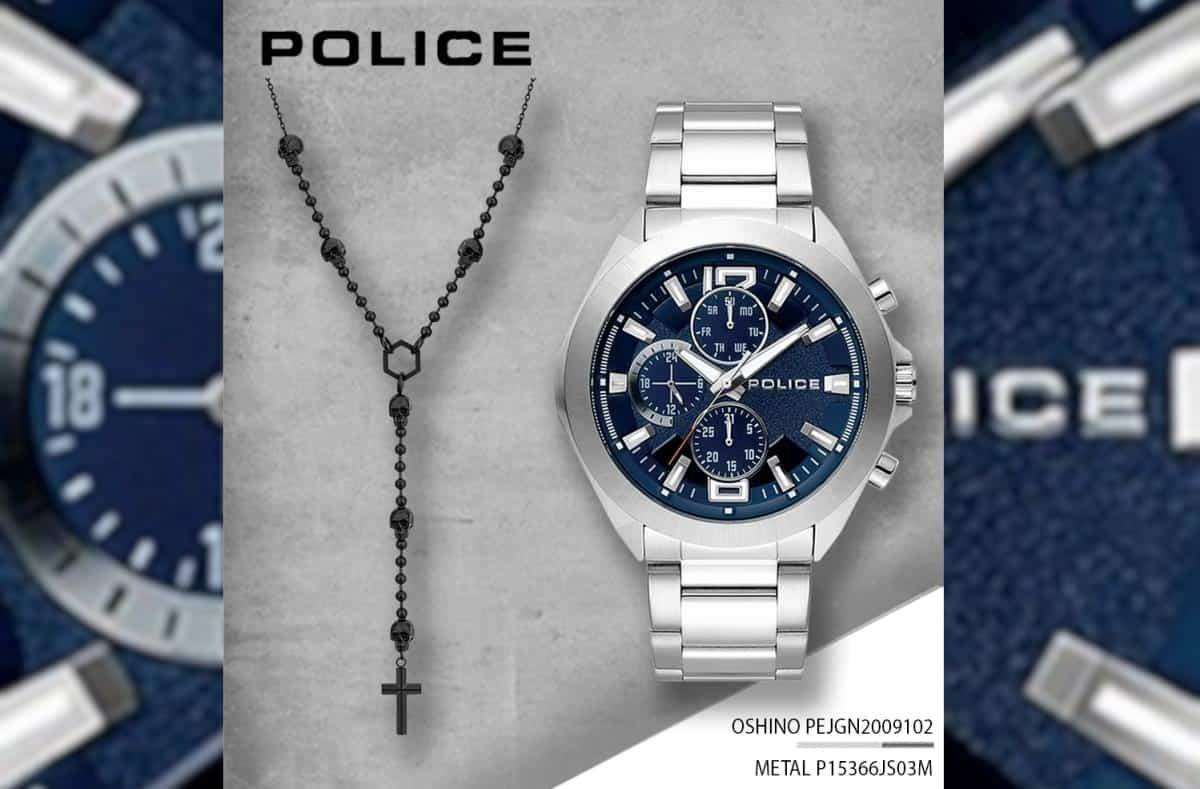Relógio Police Metal