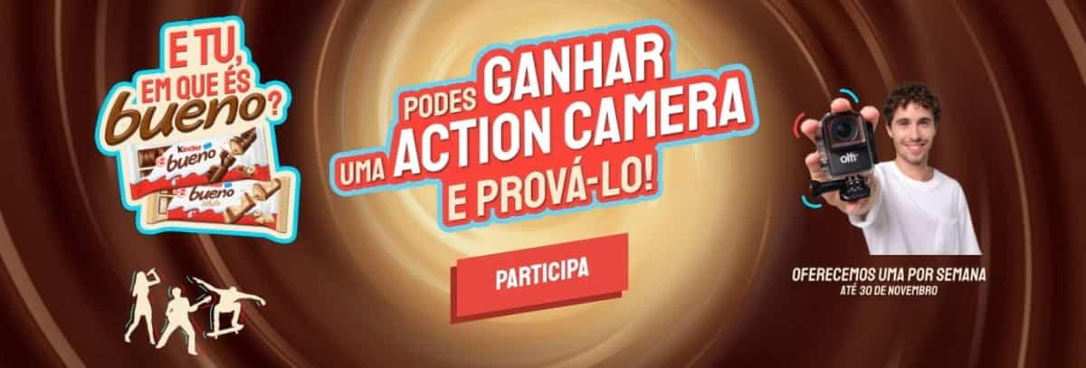 Uma Action Camera por semana