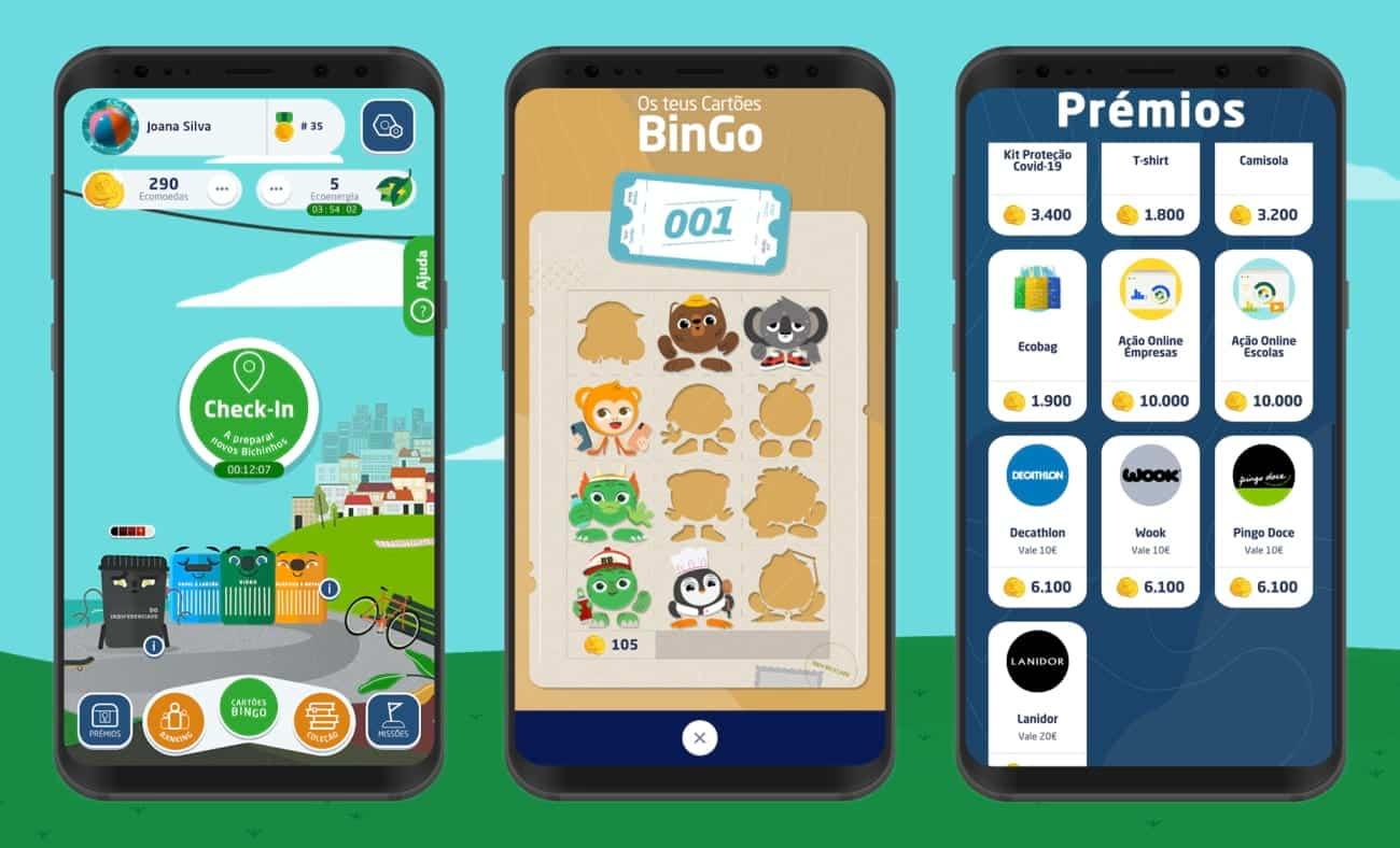 Aplicação Recycle BinGo