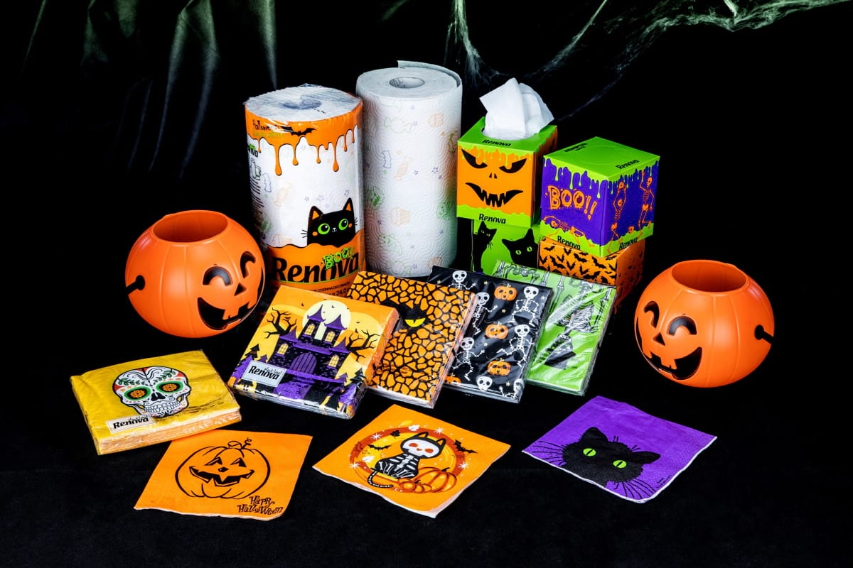 Packs especiais Renova Halloween