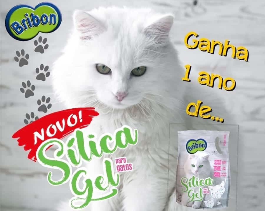 Sílica Gel BRIBON para gatos