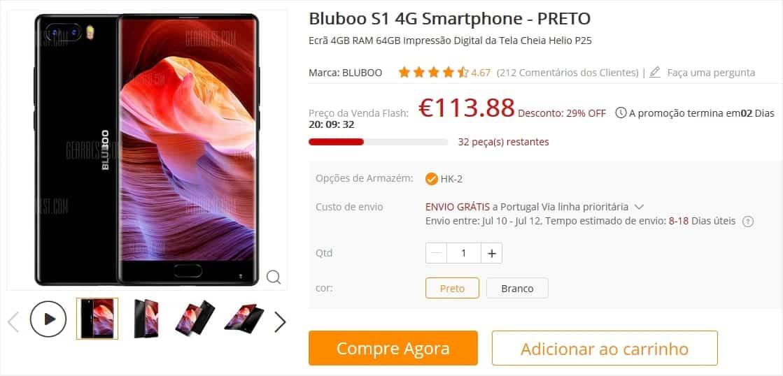 Bluboo S1 - GearBest PT