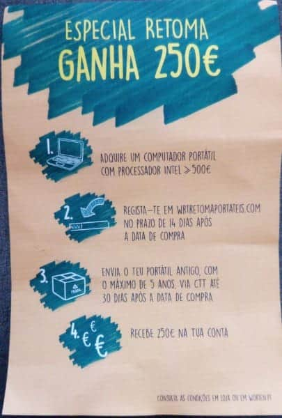 Folheto Worten - Campanha de Retoma