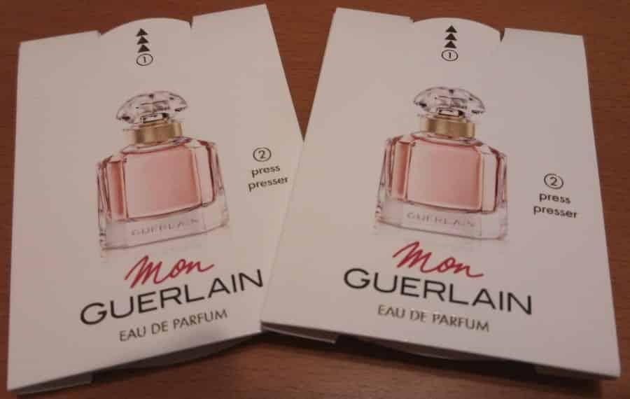 Fragrancia Mon Guerlain - Amostra Recebida