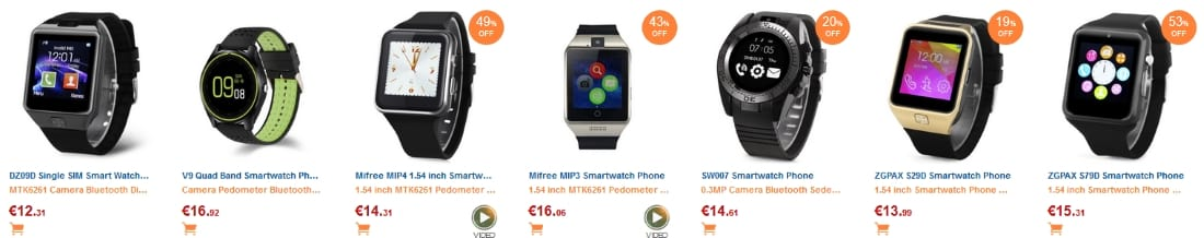 GearBest - Smartwatch