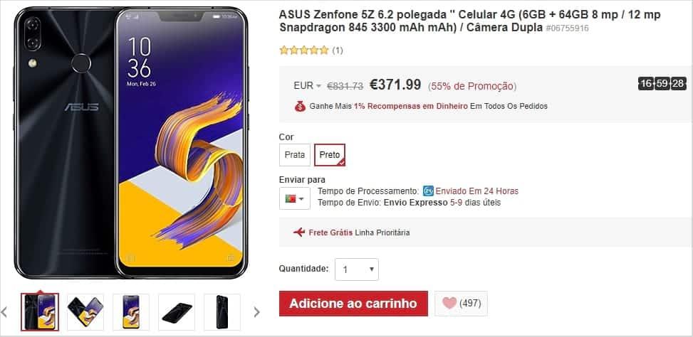 Lightinthebox - ASUS Zenfone 5Z
