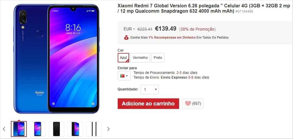 Lightinthebox - Xiaomi Redmi 7