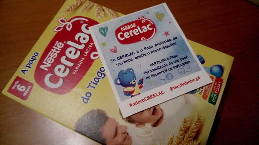 Amostra Grátis de Papa Cerelac