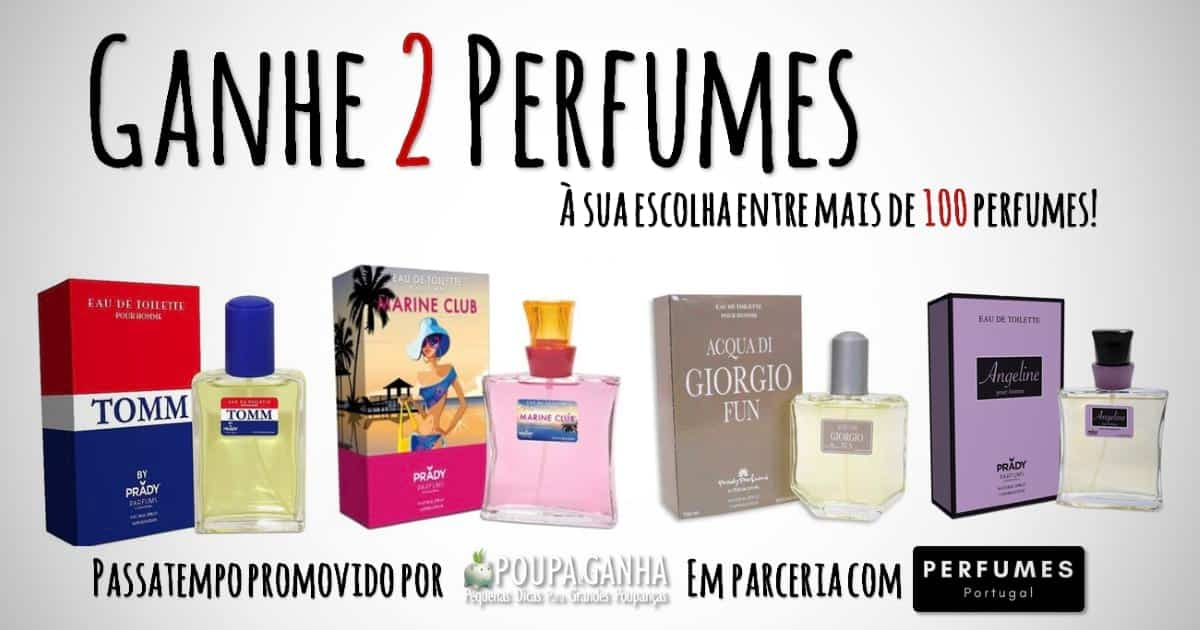Passatempo Perfumes Portugal