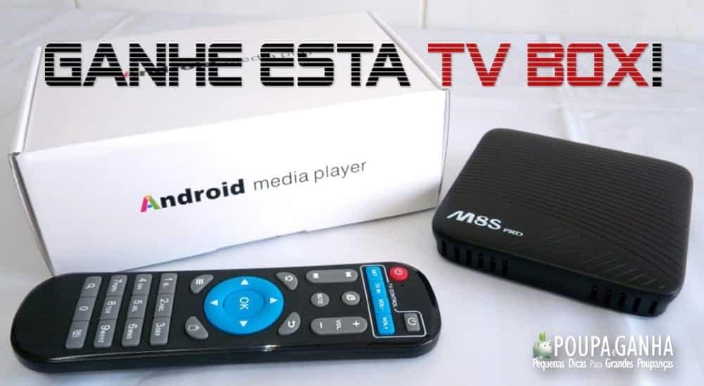 Passatempo Poupa e Ganha - TV Box