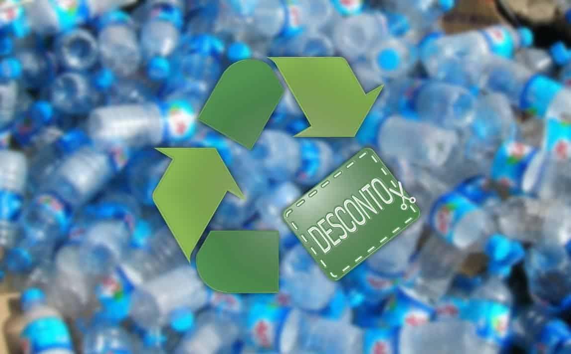 Reciclar Garrafas - Vales de Desconto