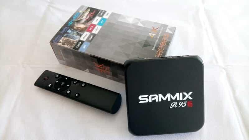 SAMMIX R95S: TV Box Android com 2GB de RAM por apenas 42€!