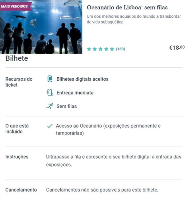 Tiqets - Oceanario de Lisboa