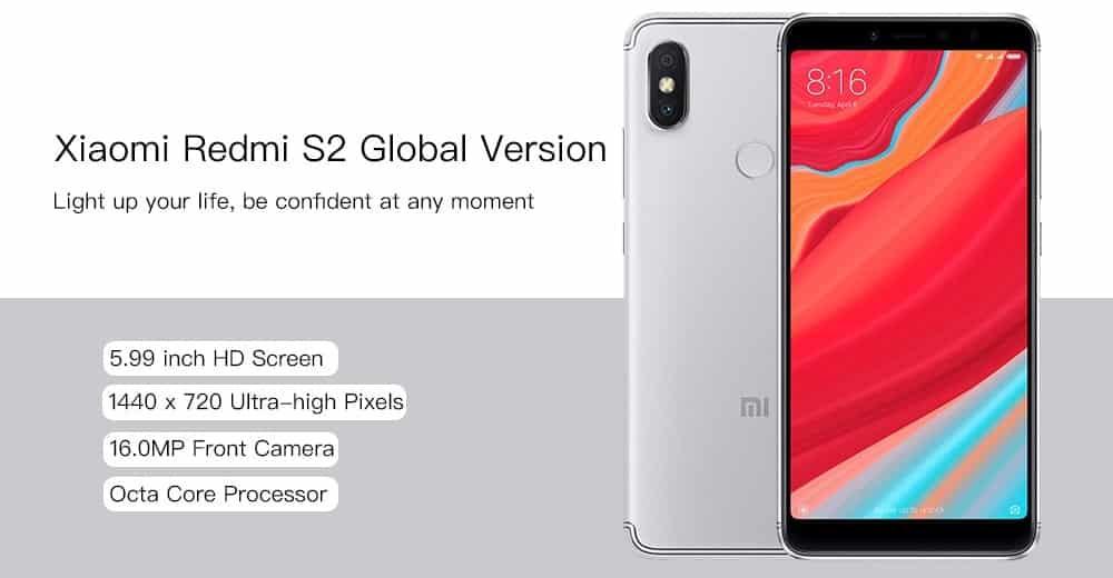 Xiaomi Redmi S2 - GearBest