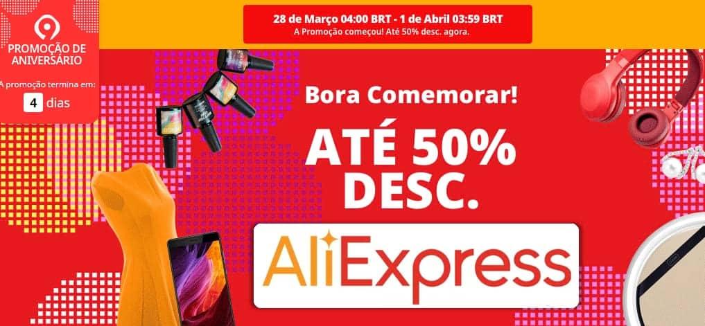 AliExpress - Aniversário
