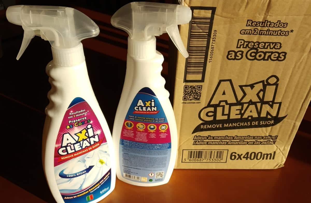 Embalagens de Axi Clean