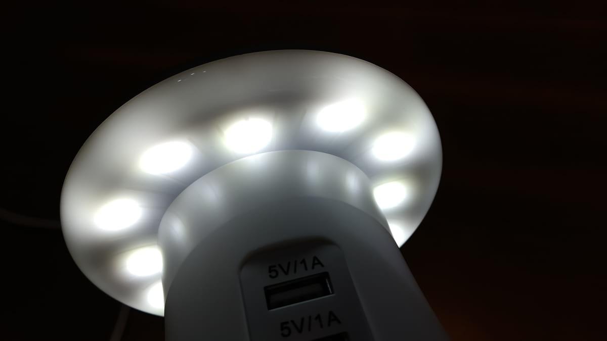 Candeeiro Cogumelo - Luz