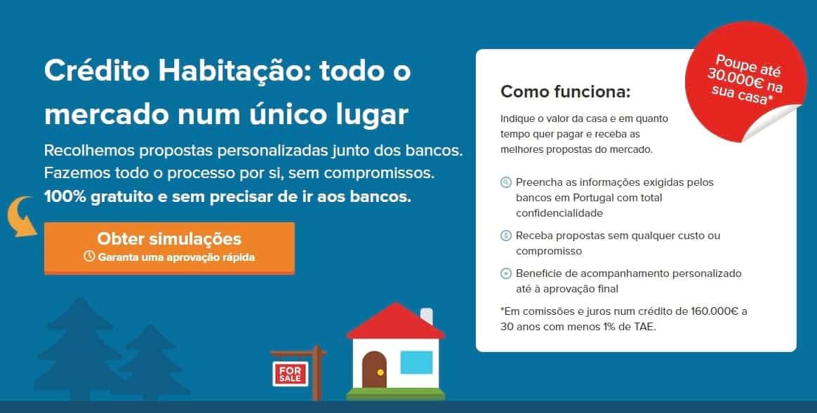 Comparajá - Crédito Habitação