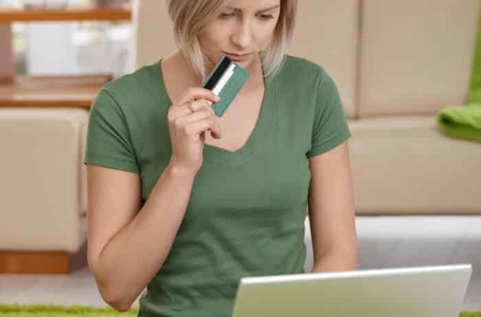 Comprar online com cartão de crédito