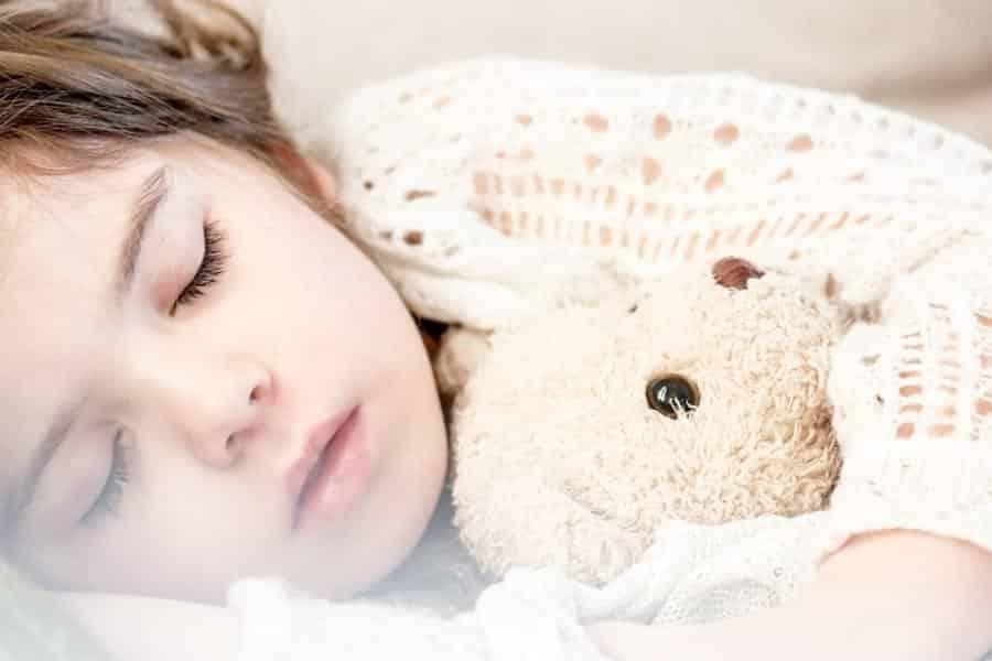 Criança a dormir