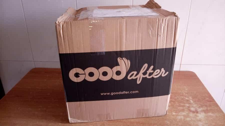 A minha primeira encomenda no supermercado online GoodAfter
