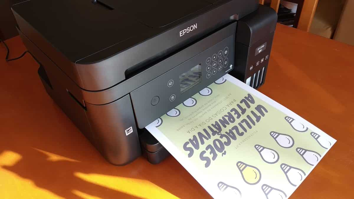 Epson ET-3750 - Impressão