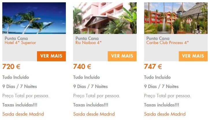 Férias baratas em Punta Cana