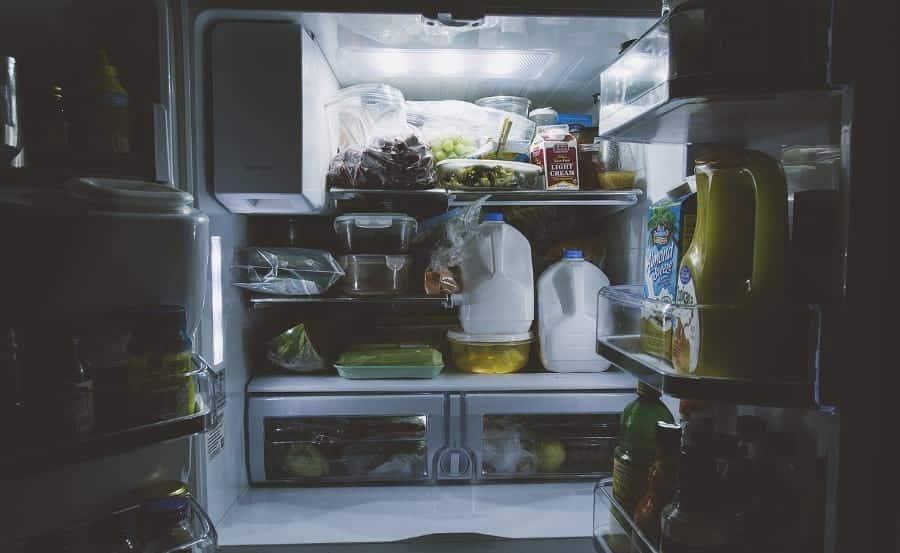 frigorifico cheio