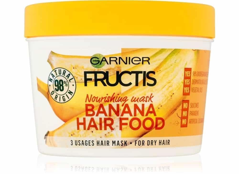 fructis banana hair food