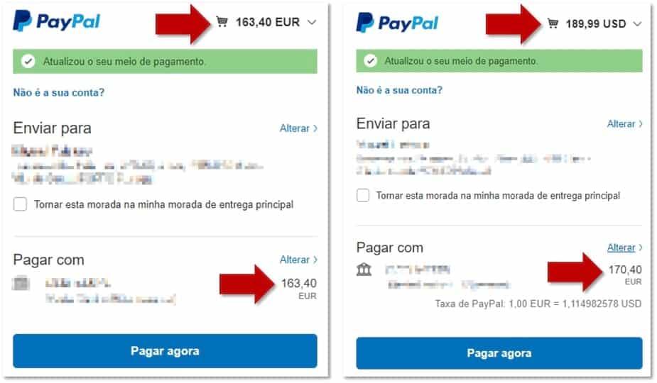 GearBest - Pagar em Euros ou Dólares