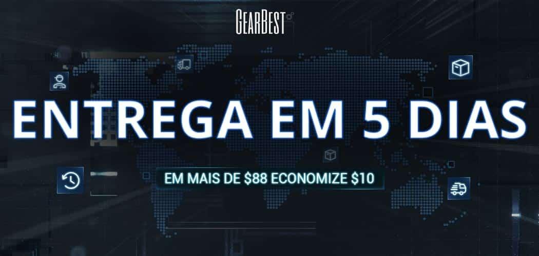 GearBest - Entrega em 5 dias