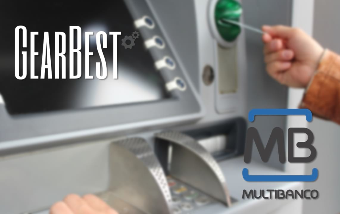 Gearbest - Pagamento via Multibanco